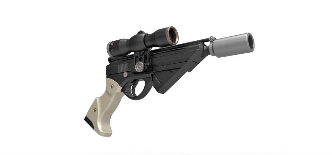 Blaster pistol Night Sniper X-8 from Star Wars 3D Print 288768