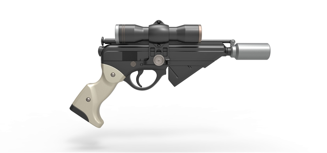 Blaster pistol Night Sniper X-8 from Star Wars 3D Print 288770