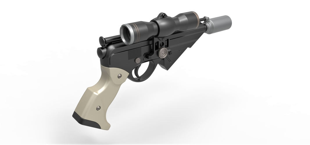 Blaster pistol Night Sniper X-8 from Star Wars 3D Print 288771