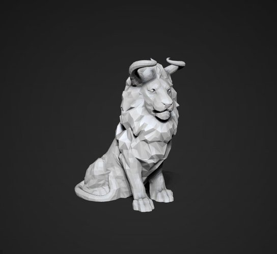 Bull of Jungle 3D Print 28904
