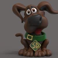 Small Baby Scooby Doo 3D Printing 289365