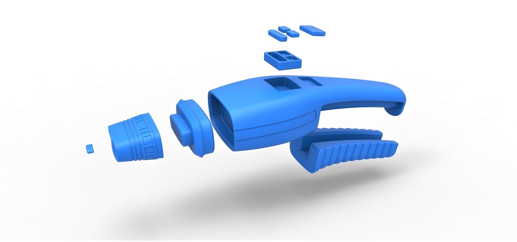 3D Printed -- --- Dustbuster Phaser Star Trek The Next Generation