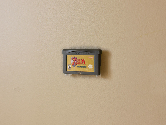 Aladdin's Pants: Wall Mount Cartridges for Retro Systems 3D Print 289487