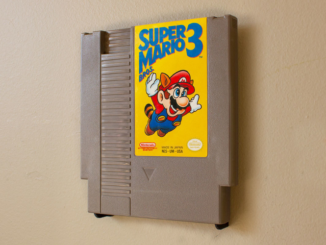 Aladdin's Pants: Wall Mount Cartridges for Retro Systems 3D Print 289488
