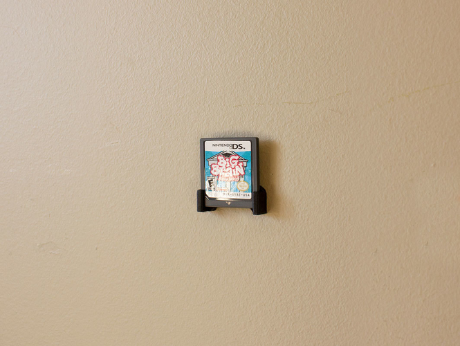 Aladdin's Pants: Wall Mount Cartridges for Retro Systems 3D Print 289489