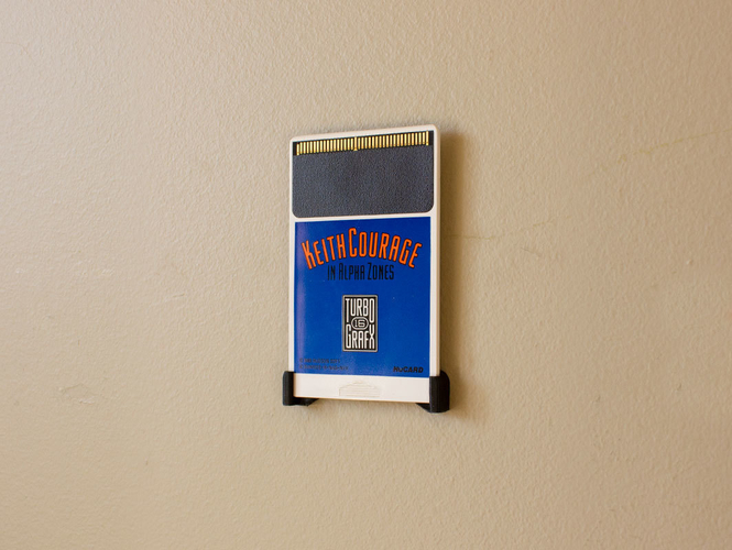 Aladdin's Pants: Wall Mount Cartridges for Retro Systems 3D Print 289492