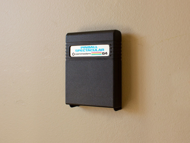 Aladdin's Pants: Wall Mount Cartridges for Retro Systems 3D Print 289493
