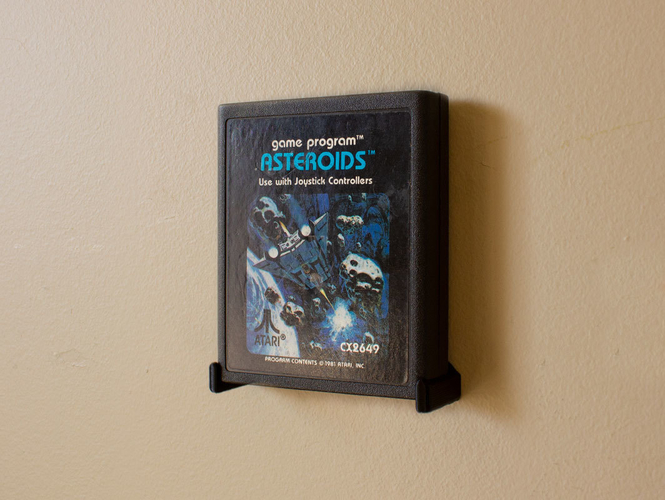 Aladdin's Pants: Wall Mount Cartridges for Retro Systems 3D Print 289497