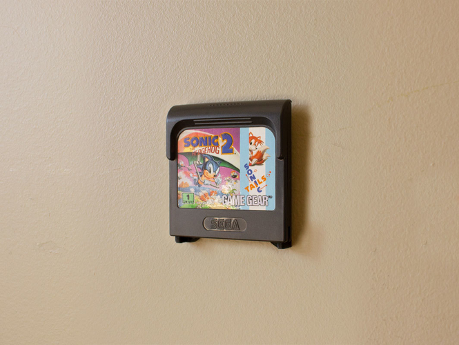 Aladdin's Pants: Wall Mount Cartridges for Retro Systems 3D Print 289498