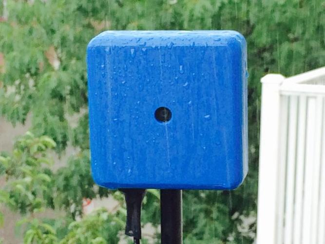 RainBerry: Weatherproof Case for Raspberry Pi A+ and Pi Camera 3D Print 28971