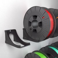 Small SPOOL WALL RACK 3D Printing 28979