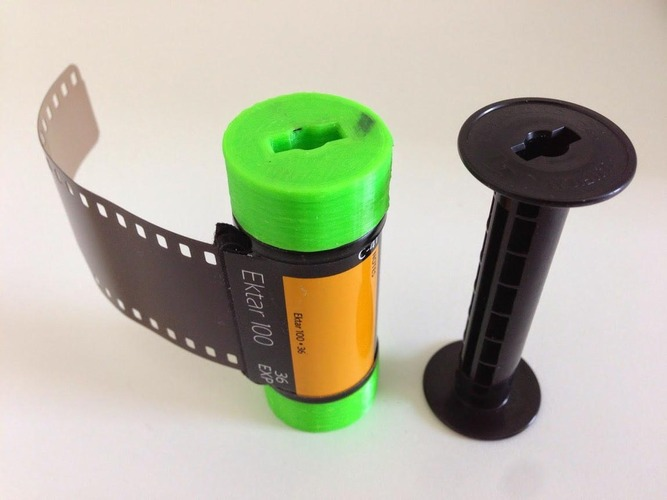 35mm Film on 120 Spool 3D Print 29008