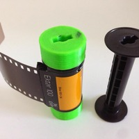Small 35mm Film on 120 Spool 3D Printing 29008