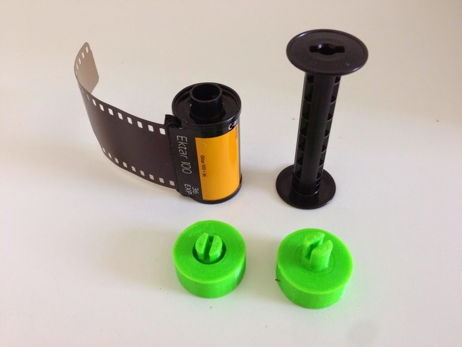 35mm Film on 120 Spool 3D Print 29010