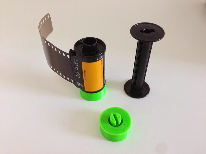 35mm Film on 120 Spool 3D Print 29011