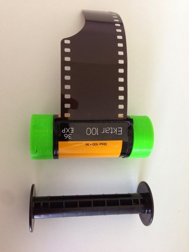 35mm Film on 120 Spool 3D Print 29012
