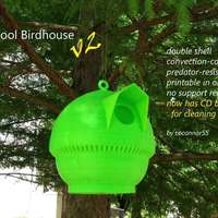 Small Cool Birdhouse v2 3D Printing 29022