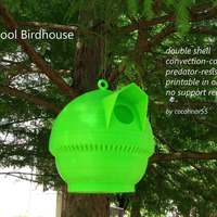Small Cool Birdhouse 3D Printing 29030
