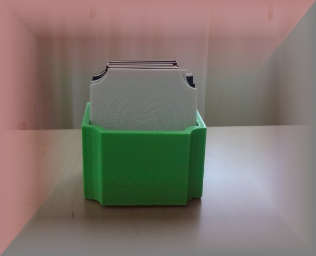 Coaster box and Coaster/Plate rack 3D Print 29042