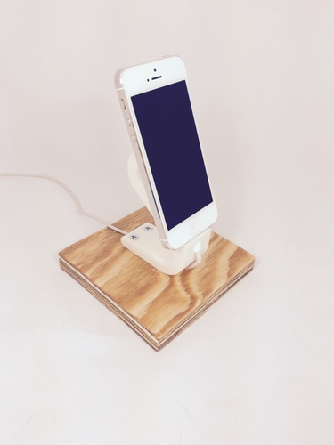 The Ess, iPhone 6+/6/5/5S Apple Lightning Charging Dock 3D Print 29051