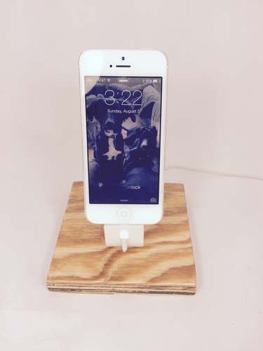The Ess, iPhone 6+/6/5/5S Apple Lightning Charging Dock 3D Print 29053