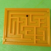 Small Easy Maze 3D Printing 29075