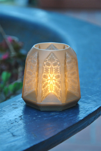 PANDORO Tealight Candle Holder 3D Print 29106