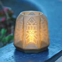 Small PANDORO Tealight Candle Holder 3D Printing 29106
