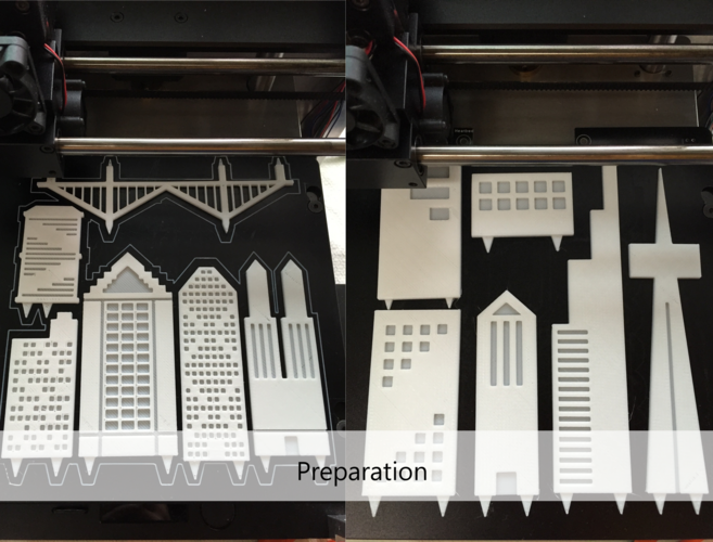Your City & Skyline 3D Print 29149