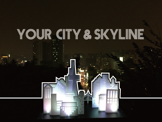 Your City & Skyline 3D Print 29153