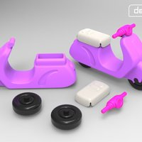 Small Gro-Scooter 3D Printing 29189
