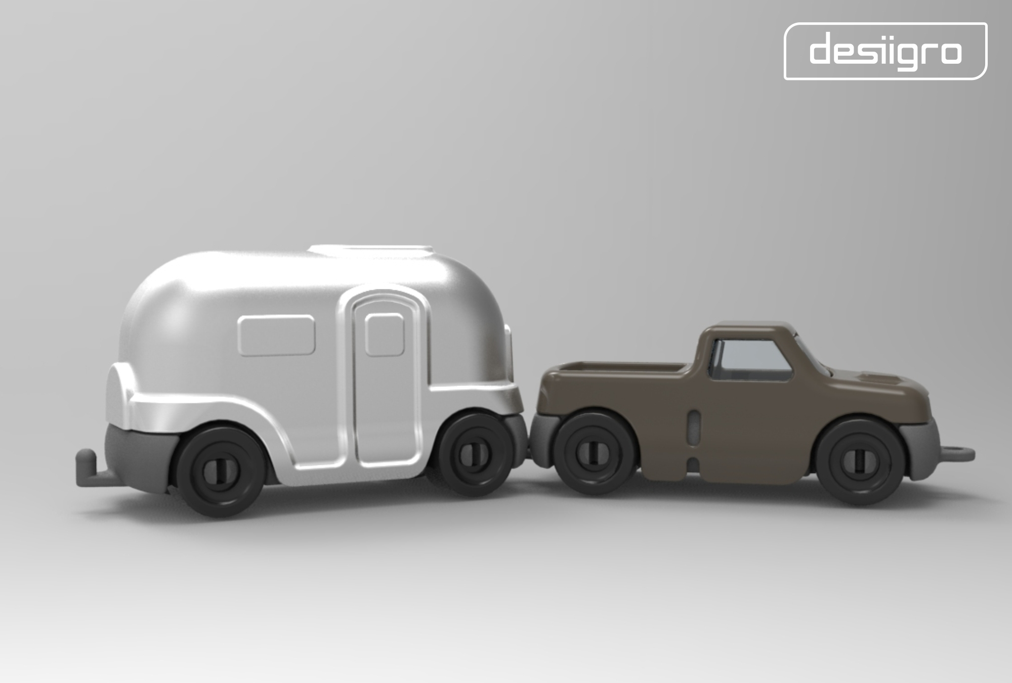 3D Printed Gro Airstream By Desiigmo