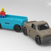 Small Gro-Trailer 3D Printing 29203