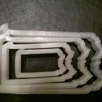 Small Pennsylvania Cookie Cutter, set of four 3D Printing 29271