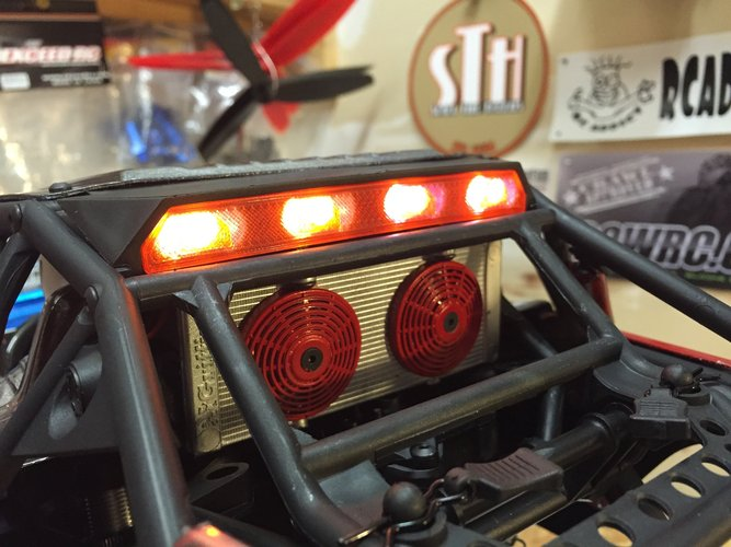 Axial Yeti Rear light Cover 3D Print 29282