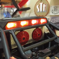 Small Axial Yeti Rear light Cover 3D Printing 29282