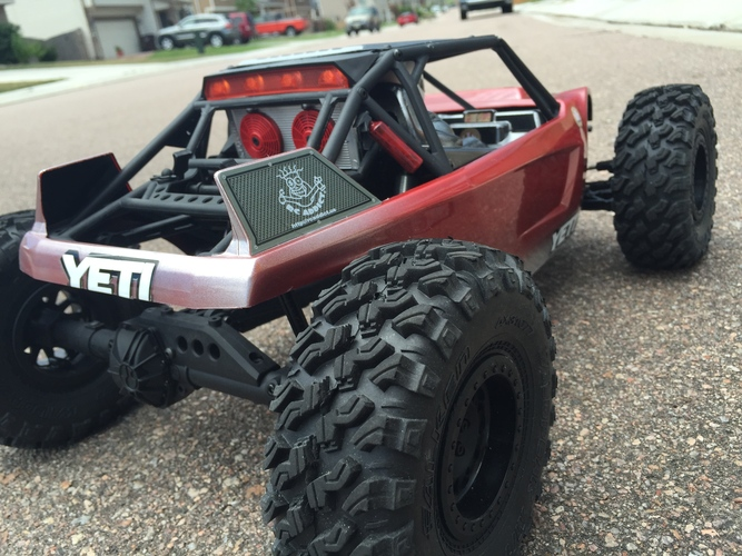 Axial Yeti Rear light Cover 3D Print 29284