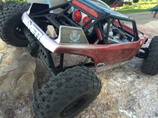 Axial Yeti Rear light Cover 3D Print 29285