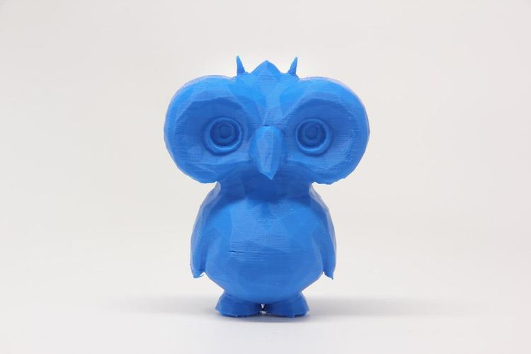 Low Poly Owl Dude 3D Print 29469