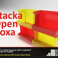 Small Stacka Open Boxa 3D Printing 29471