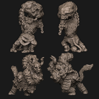Small Ox Folk 3D Printing 294939