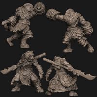 Small Tiger Folk 3D Printing 294940