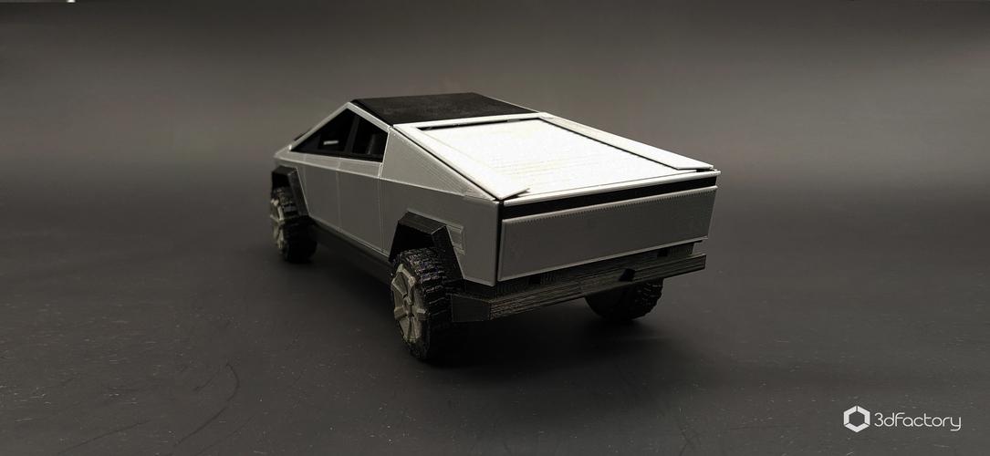 3D Printed Tesla Cybertruck - 3dPrintable - 3dFactory by ...