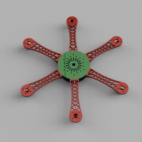 Small Hex Copter 3D Printing 29579