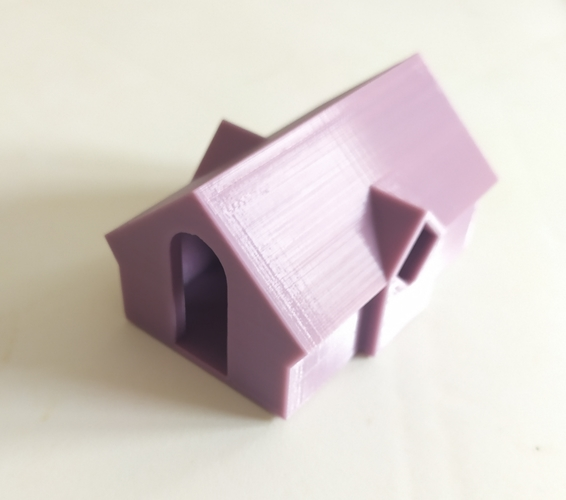 How To: 3D Origami House - Part 1 - YouTube | 500x566