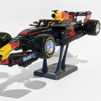 Small [V2] Max Verstappen RB14 Scale Model Stand 3D Printing 296039