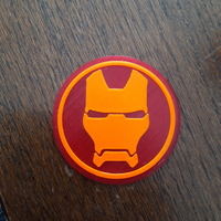 Small Iron Man tabel top/ glass holder (two color) 3D Printing 296445