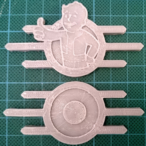 Fallout Badge Set 3D Print 29705