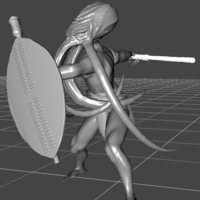 Small Cuthzulu warrior 3D Printing 298917