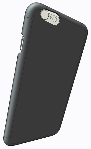 iPhone6 Case Slim (1mm Thick) 3D Print 29907